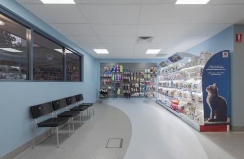 Front Shop In Reception